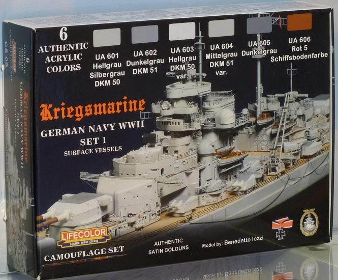 World War II Camouflage German Navy Kriegsmarine Set #1