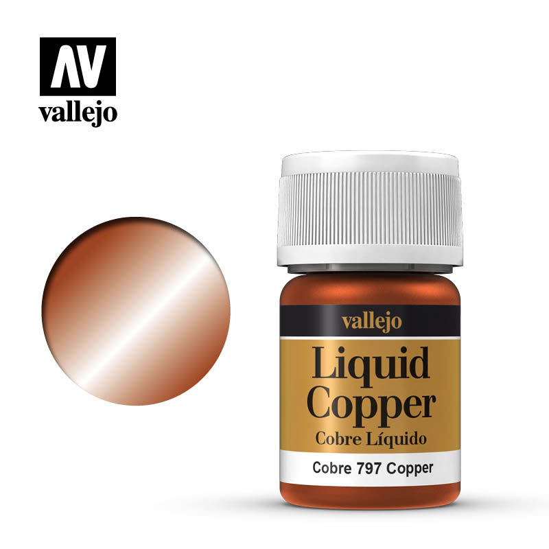 Alcohol Based Metallic Copper 35ml Bottle 218