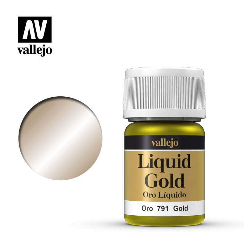 212 Alcohol Based Metallic Gold 35ml Bottle 212
