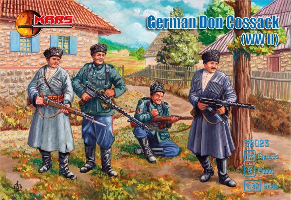 WWII German Don Cossacks