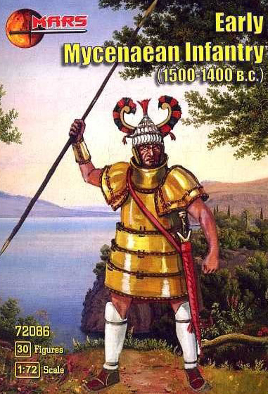 Early Mycenaean Infantry 1500-1400BC