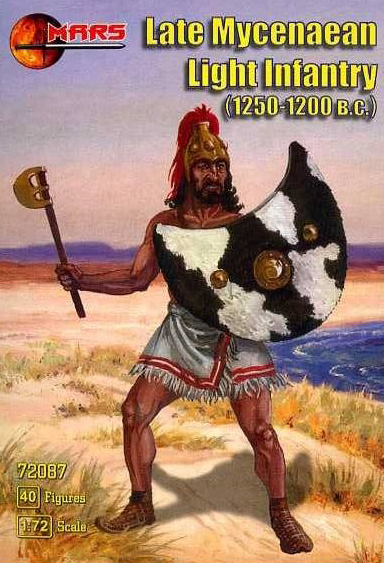 Late Mycenaean Light Infantry 1250-1200BC