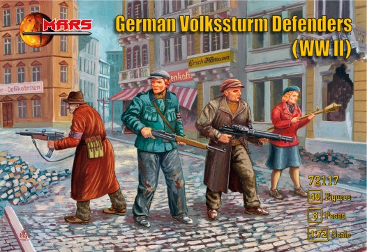 WWII German Volksturm Defenders