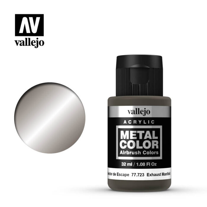 Vallejo Metal Color: Exhaust Manifold Metal Color 32ml Bottle