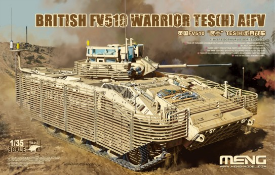 British FV510 Warrior TES(H) (AIFV) Armored Infantry Fighting Vehicle
