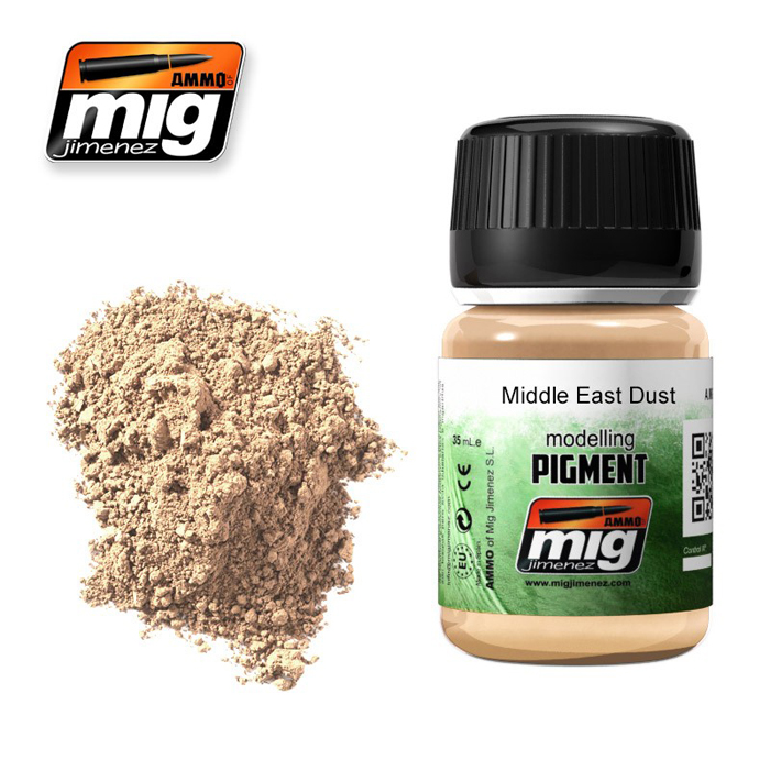 Pigments: Middle East Dust