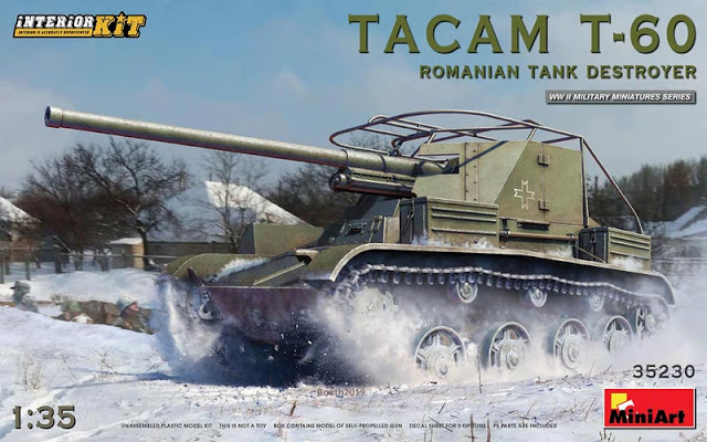 WWII TACAM T-60 Romanian Tank Destroyer [Interior Kit]    more info