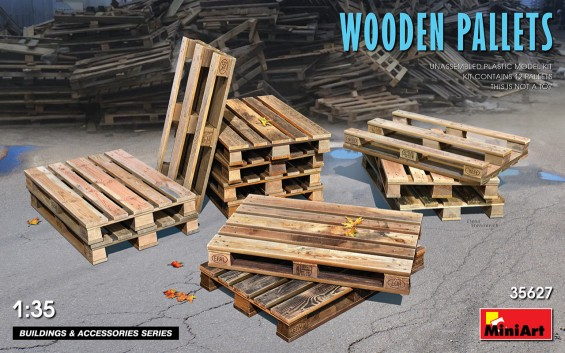 Wooden Type Pallets