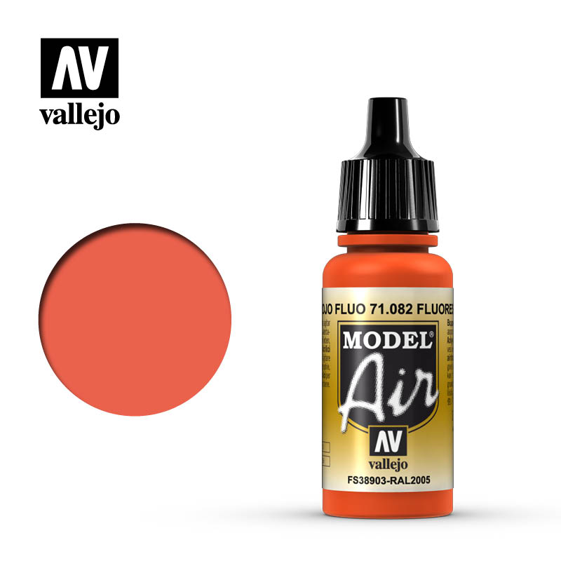 Model Air Fluorescent Red