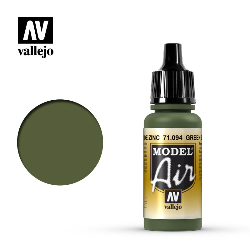 Model Air Green Zinc Chromate