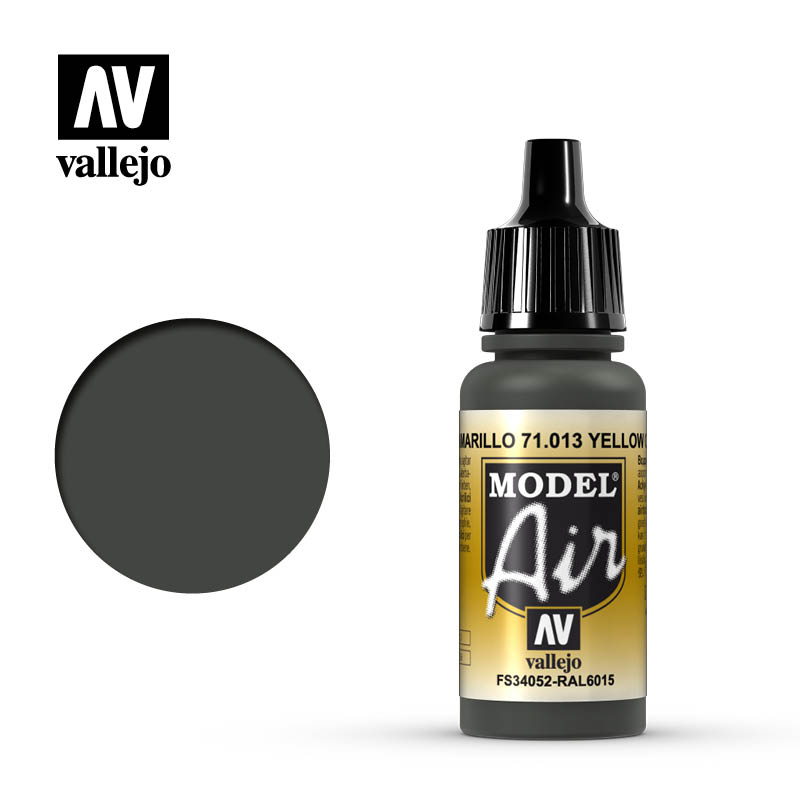 Model Air Yellow Olive