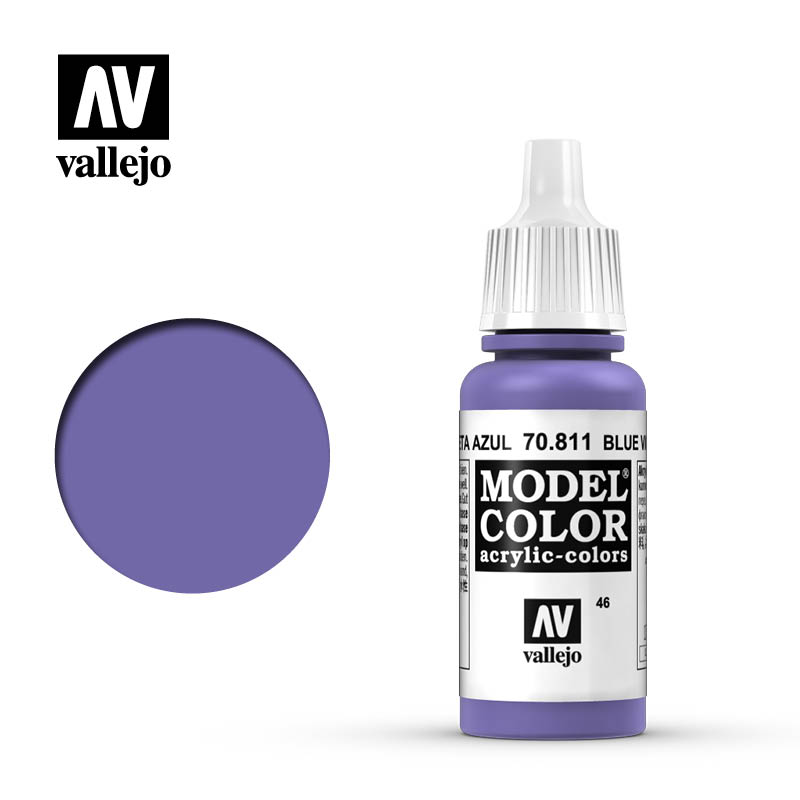 046 Model Color Blue Violet 046