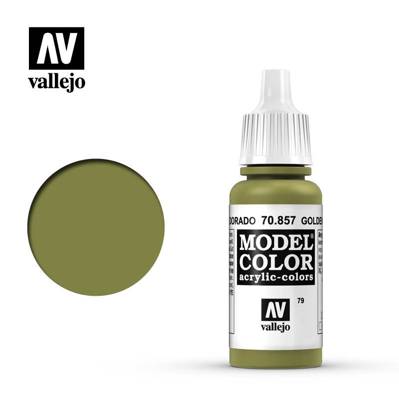 Model Color Golden Olive 079