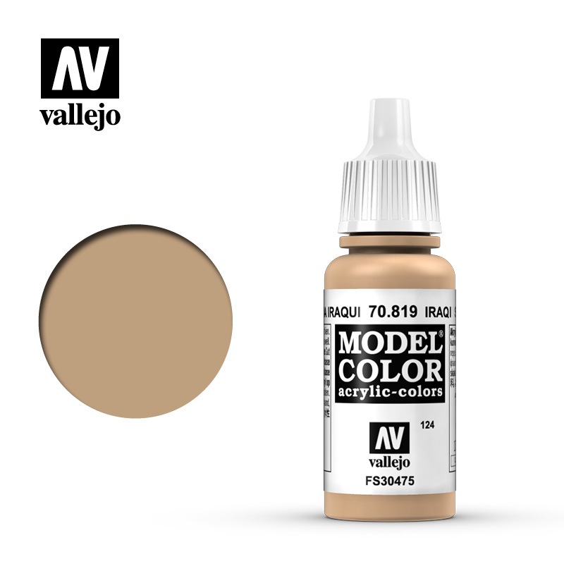 Model Color Iraqui Sand 124