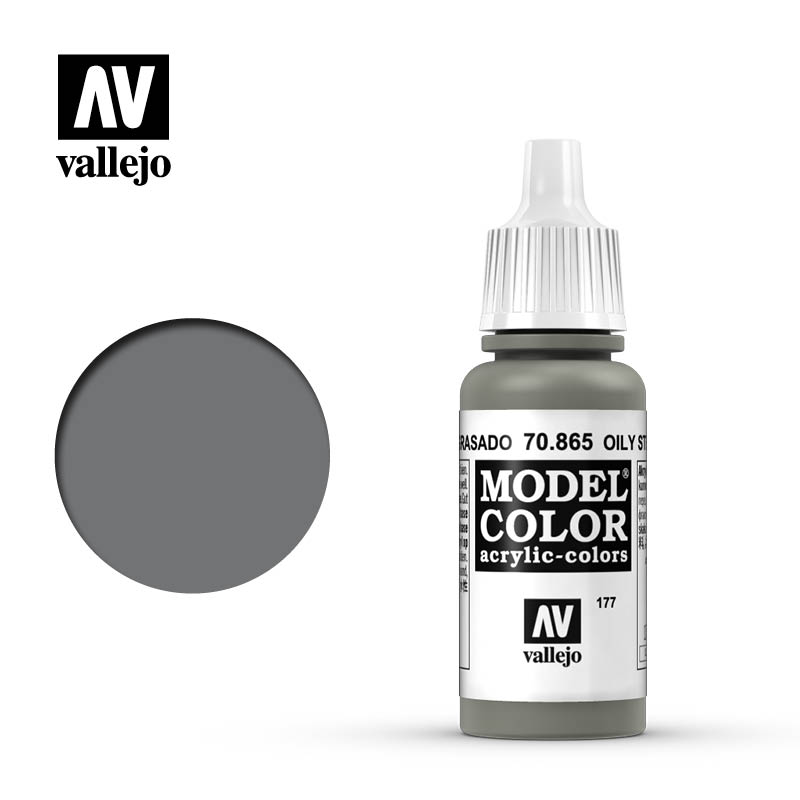 Model Color Metallic Oily Steel 177