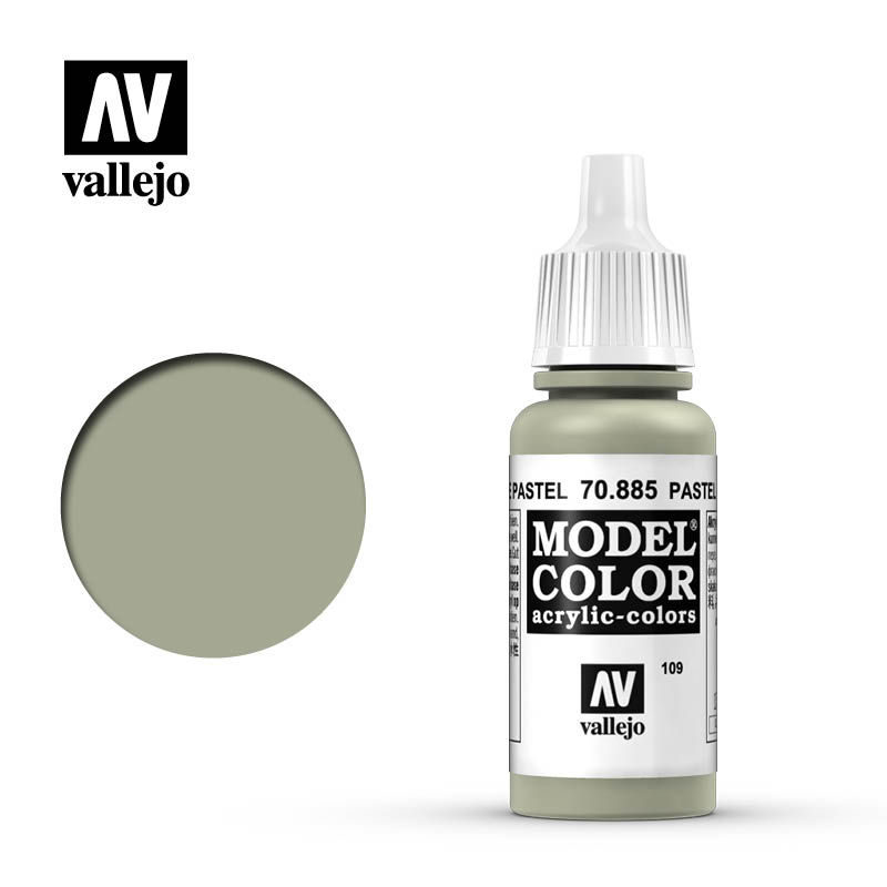 Model Color Pastel Green 109