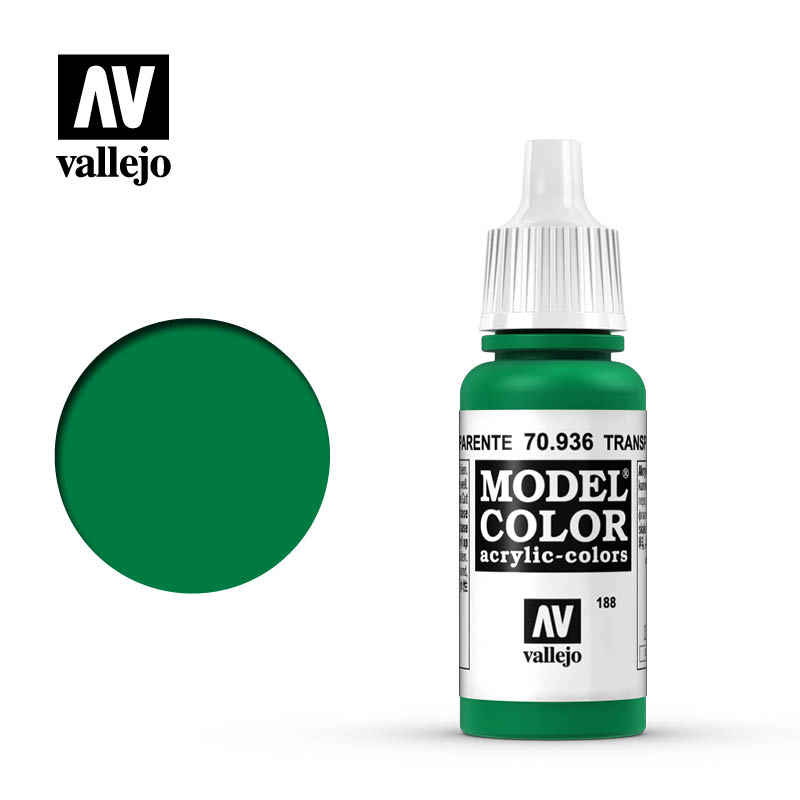 Model Color Transparent Green 188