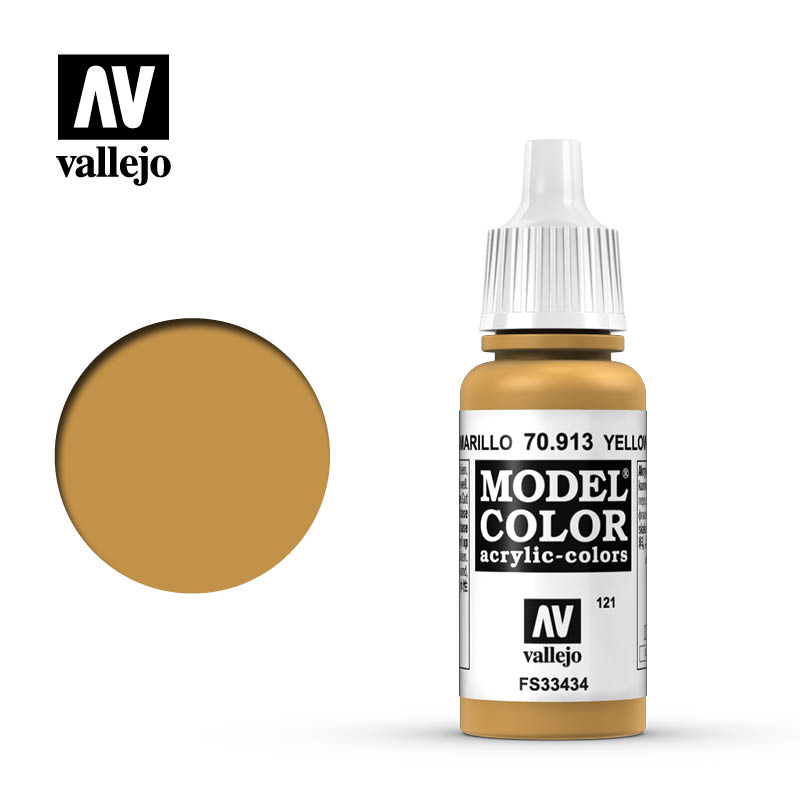 Model Color Yellow Ochre 121