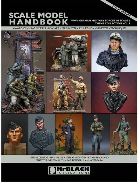 Mr. Black Theme Collection Vol.5.- WWII German Military Forces in Scale 2