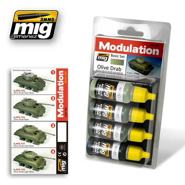 Modulation Set: Olive Drab - ONLY 1 AVAILABLE AT THIS PRICE