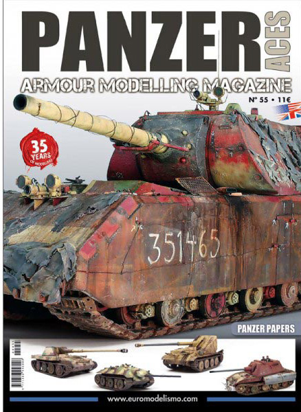 Panzer Aces Magazine no. 55 Special Issue Paper Panzers