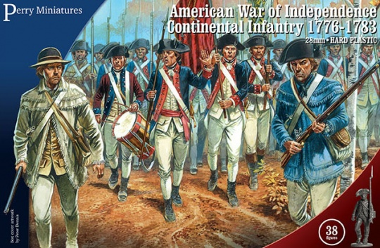 Perry Miniatures American War of Independence Continental Line 1776-1783