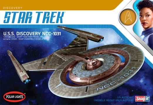 Star Trek Discovery Series USS Discovery NCC1031