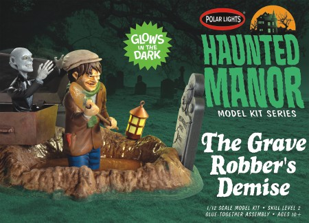 Haunted Manor The Grave Robbers Demise Glow-in-the-Dark Diorama Set
