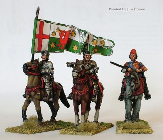 Wars Of The Roses: (Lancaster) High Command (Mounted)
