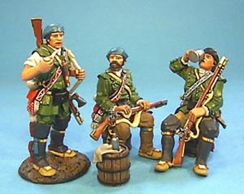 RAID ON ST FRANCIS 1759 - RANGERS PREPARING FOR RAID #RR-01 - 1 AVAILABLE OOP