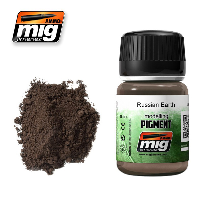 Pigments: Russian Earth