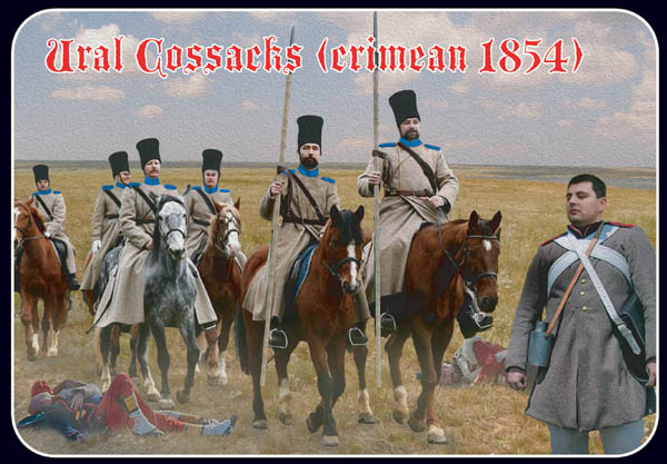 Strelets R-Ural Cossacks Crimean War 1854