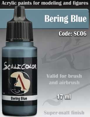 Bering Blue Paint 17ml