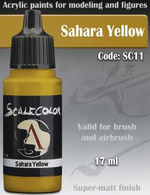 Sahara Yellow Paint 17ml