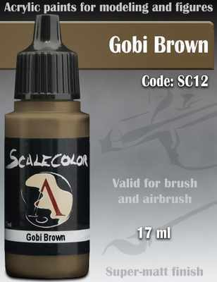 Gobi Brown Paint 17ml