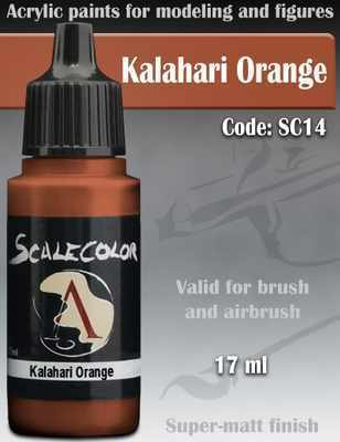 Kalahari Orange Paint 17ml