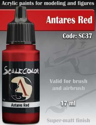 Antares Red Paint 17ml