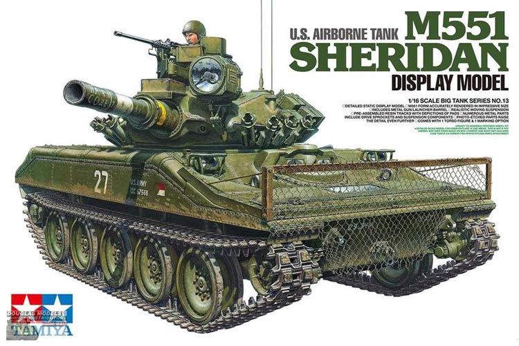 M551 Sheridan US Airborne Tank - Display Model