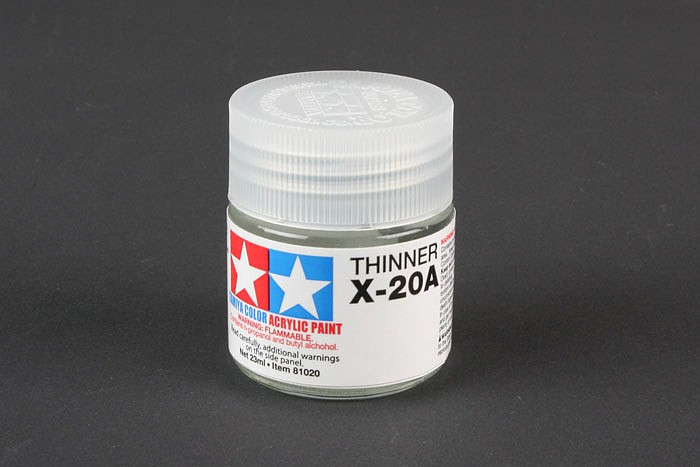 Acrylic Poly Thinner X-20A 23ml Bottle