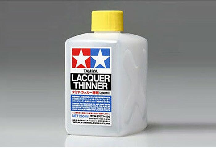 Lacquer Thinner 250ml Bottle