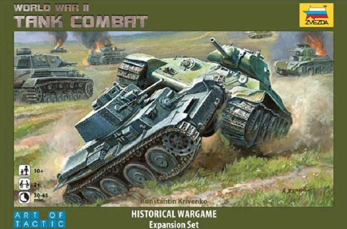Michigan Toy Soldier Company : Zvezda - WWII Tank Combat an Art of