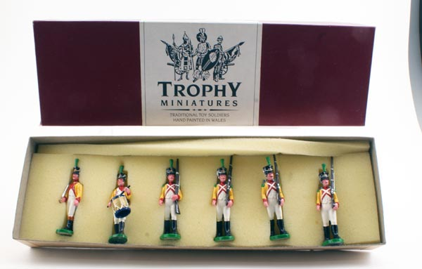 Trophy Miniatures #NP1A8O Italy Neufchatel