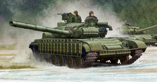 Soviet T64BV Mod 1985 Main Battle Tank