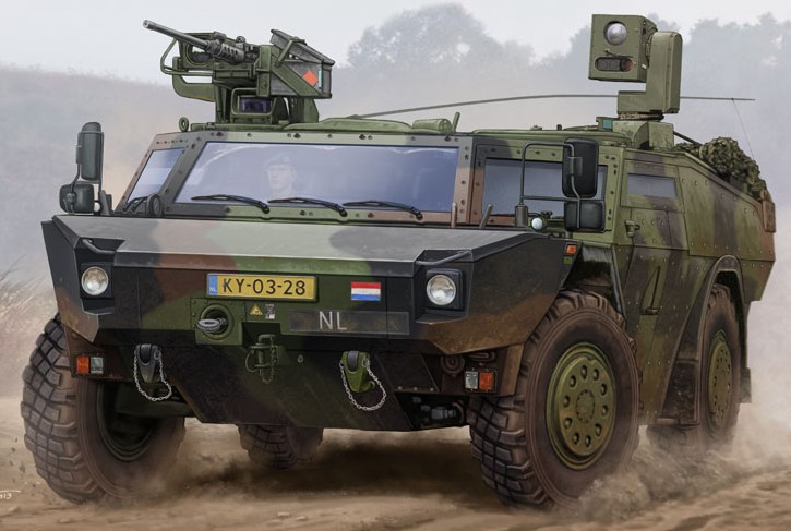 German Fennek LGS (Light Armored Recon Vehicle) Dutch Version