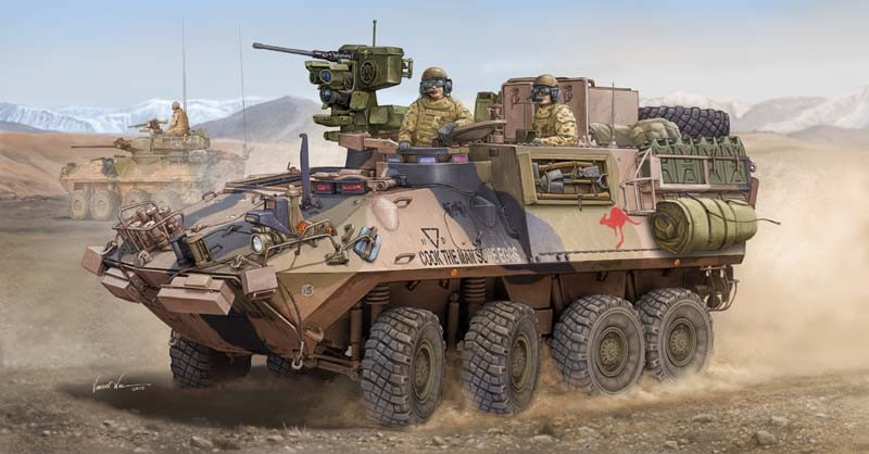 ASLAV-PC Phase 3 Australian Light Armored Vehicle