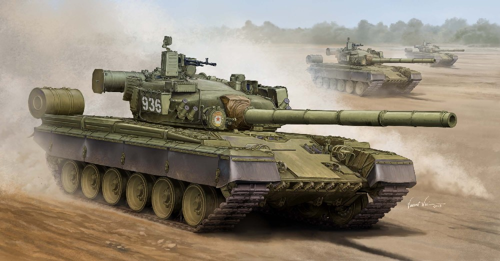 Russian T80B Main Battle Tank