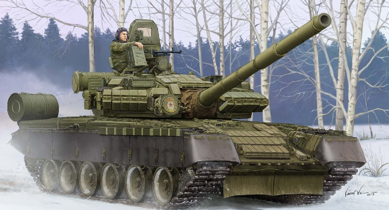 Russian T80BV Main Battle Tank