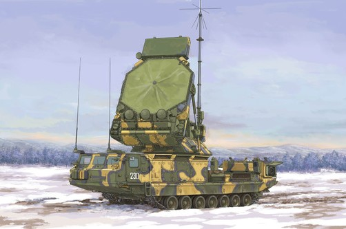 Russian S300V 9S32 Tracking Radar Surface-to-Air (SAM) Missile System