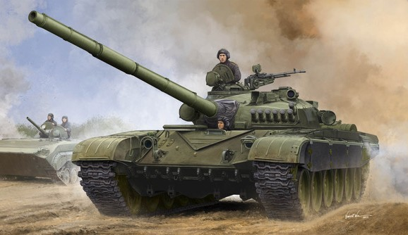 Russian T72A Mod 1979 Main Battle Tank