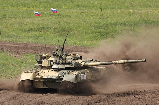 Russian T80UK Main Battle Tank